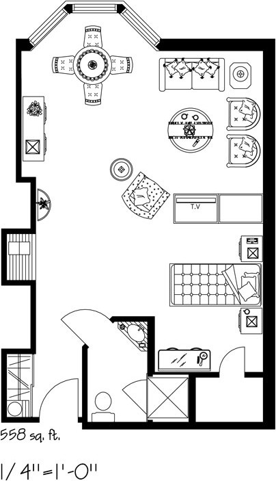 Kensington-Village-furniture-Layout-E