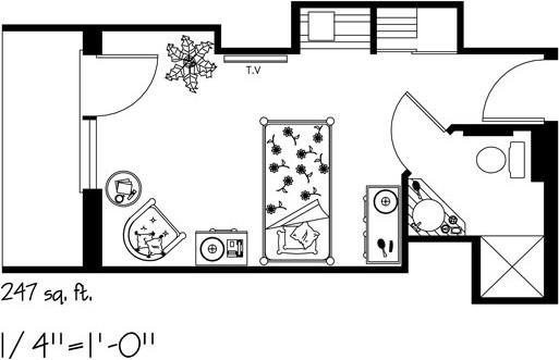 Kensington-Village-furniture-Layout-F
