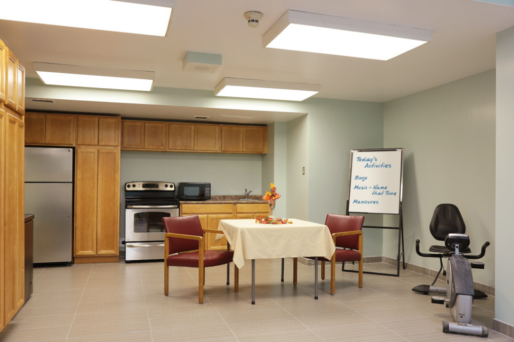 Tyndall Seniors Village Nursing Home activities room