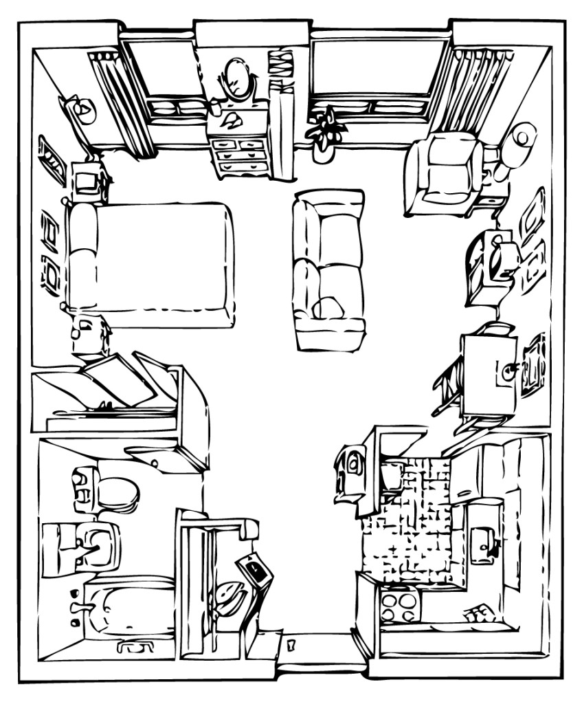 Tyndall Room Plan RH - Studio