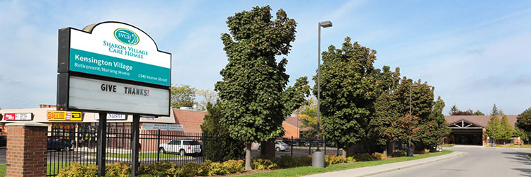 Welcome to Kensington Village Nursing & Retirement Home
