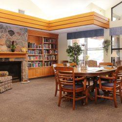 Kensington Retirement Home Library