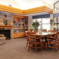 Kensington Retirement Home Library